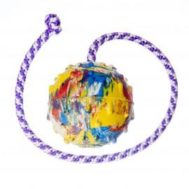 Pelota con cuerda Ø 7cm