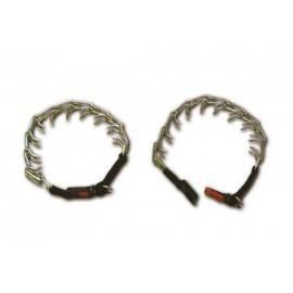 Hs Sprenger collar adiestramiento acero inox Ø 2,25mm 54cm