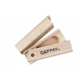 Objeto de madera con fondo para golosina
