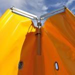 Revier grande para figurante - Aluminio